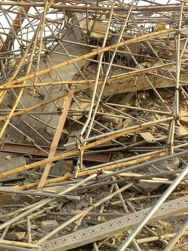 Many Feared Dead As 8-Storey Building Under Construction Collapses In Imo (Photos) 20