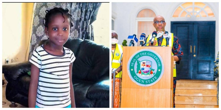9-year-old girl donates N950 to fight coronavirus in Ogun