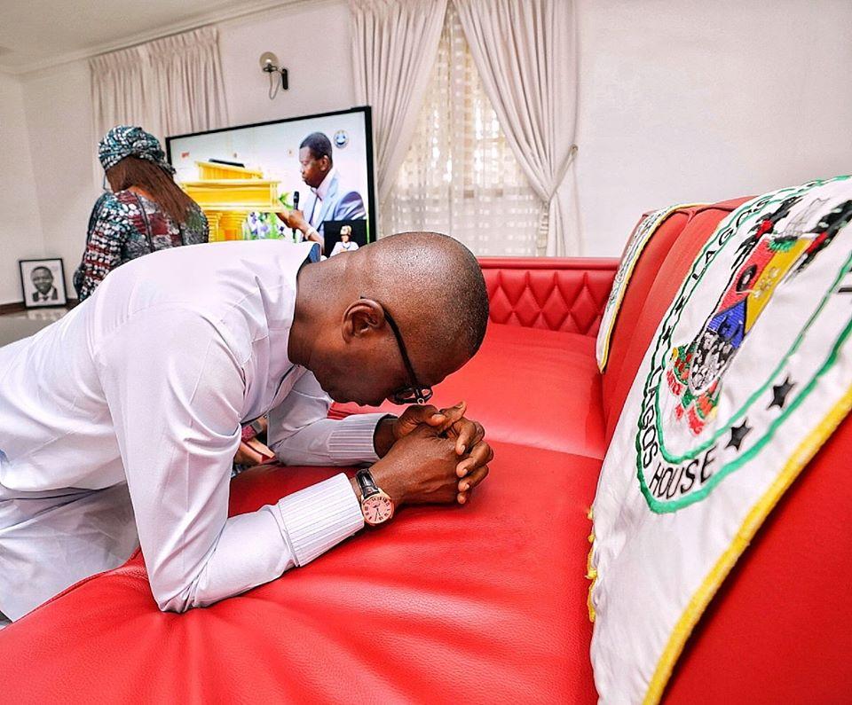 Governor Sanwo-Olu, Governor Fayemi Worshipped Online On Easter Sunday (Photos)