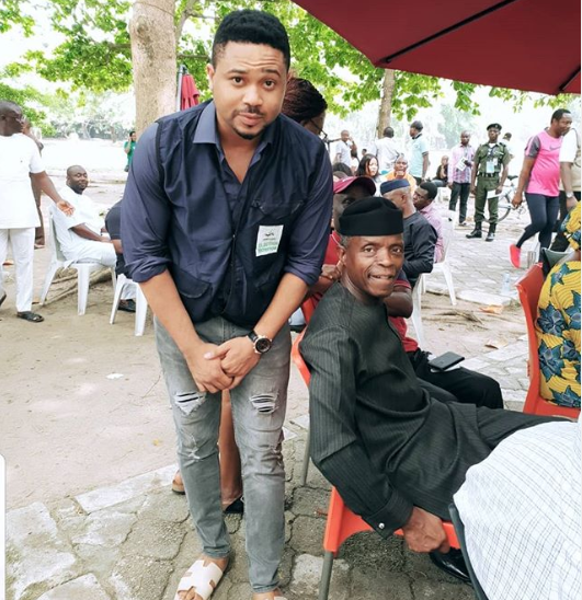 Actor, Mike Godson Writes To VP Osinbajo To Give Him Money For Food