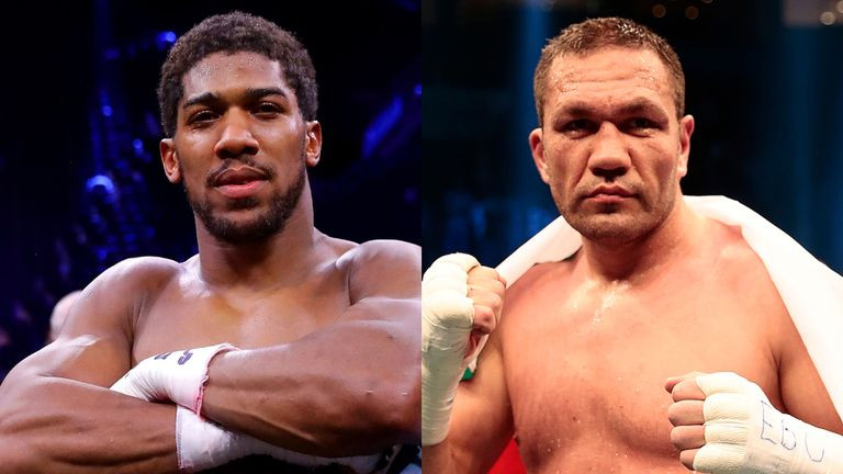 Anthony Joshua's June World Title Defence Against Kubrat Pulev POSTPONED Over Coronavirus
