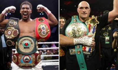 Anthony Joshua Wants To Fight Tyson Fury Behind Close Doors even If It Means Losing $8m From Gate Fees