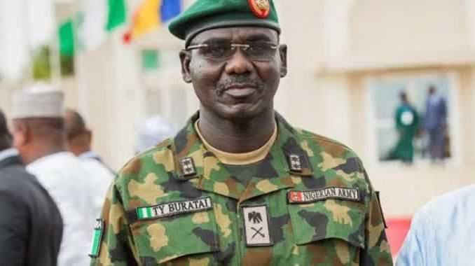 Chief of Army Staff, Buratai Relocates To North East To Face Boko Haram