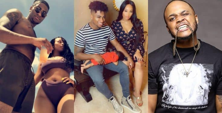 Davido's Cousin Sina Rambo Calls Out His Brother-In-Law For Beating His Sister
