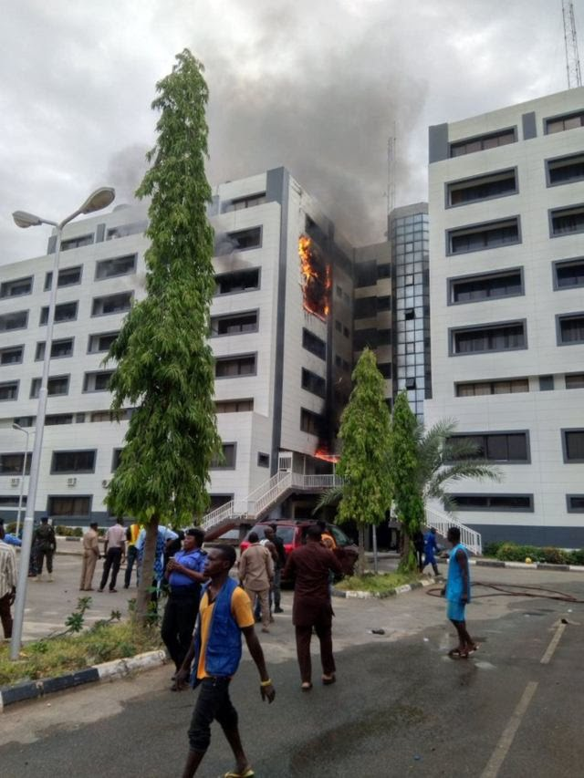 The Fire At Accountant-General's Office Razed The Payment Processing Department