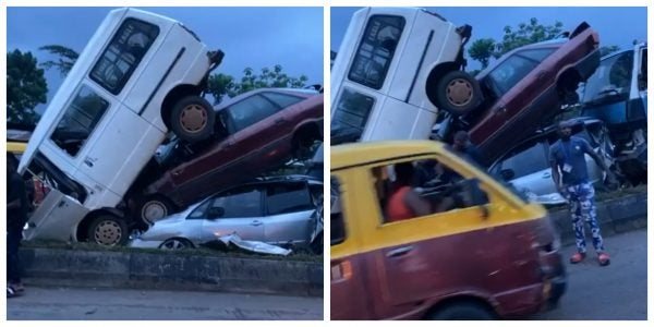 Four Vehicles Involved In Accident In Benin As Residents Rush To Beat Curfew