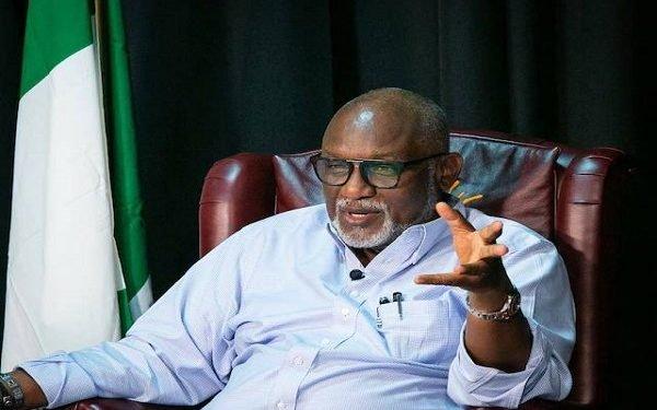Governor Akeredolu Announces Curfew In Ondo