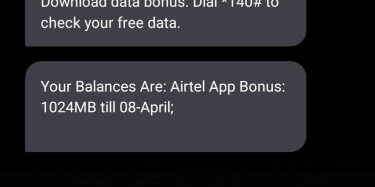 How To Get Free 1GB On Airtel