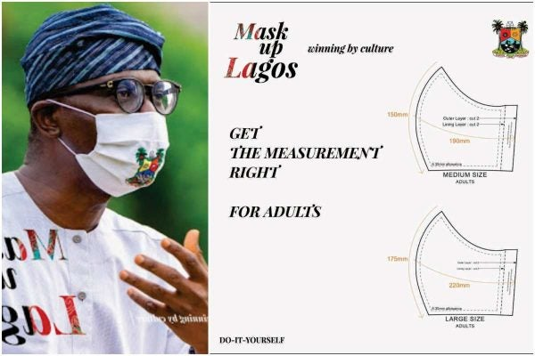 See How To Sew Your Own Face Mask (Photo)
