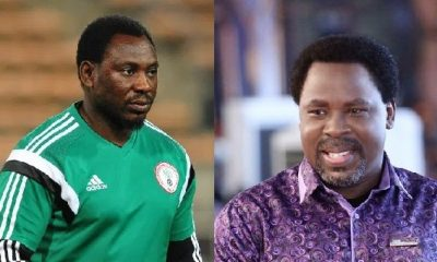 I slept at T.B Joshua's church's altar for weeks, got no miracle – Daniel Amokachi