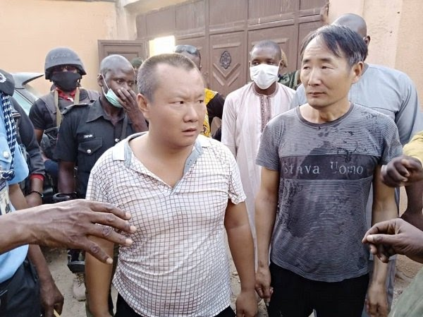 Two Chinese Men Arrested For Illegal Mining In Zamfara 4