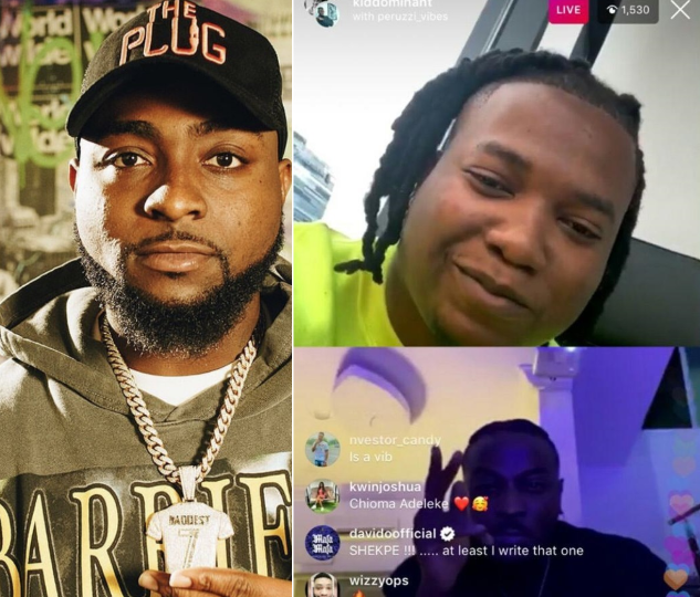 Kiddominant And Peruzzi Reveals They Wrote Most Of Davido's Hit Songs, Davido Reacts