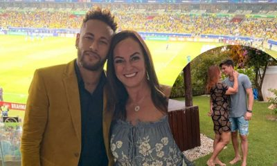 Neymar's Mother Now Dating 22-Year-Old Gamer