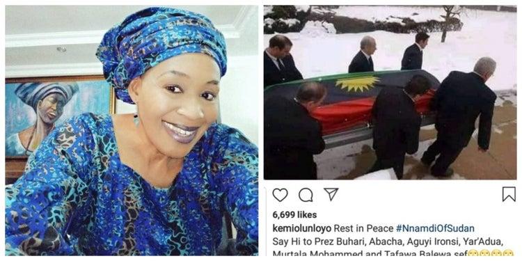Nnamdi Kanu Is Dead - Kemi Olunloyo