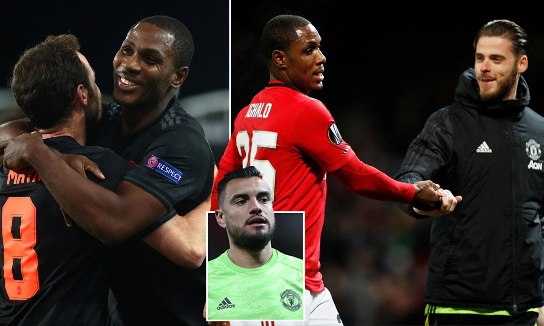 Odion Ighalo Thanks David de Gea, Sergio Romero And Juan Mata For Helping Him Settle In At Man United