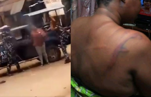 Police Officers Videoed Flogging A Lady In Osun Have Been Sacked