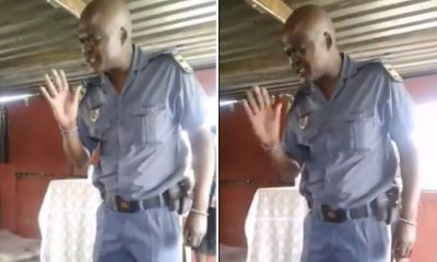 Policeman Prays Before Arresting A Pastor For Ignoring Coronavirus Lockdown (Video)