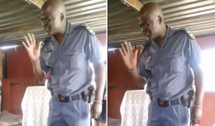 Policeman Prays Before Arresting A Pastor For Ignoring Coronavirus Lockdown (Video)