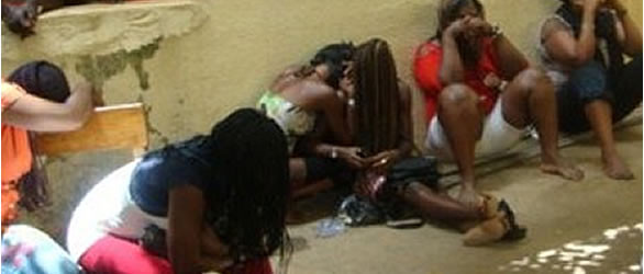 Prostitutes Arrested In Ondo For Flouting Lockdown Order