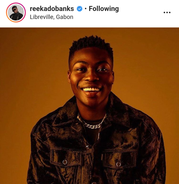 """I'm Tired Of Gabon, Please Open The Border For Me"" – Reekado Banks Begs FG"