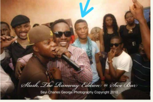 See Wizkid Throwback That's Touching Alongside Dagrin 3