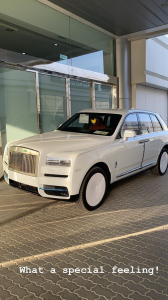 Hushpuppi Buys A Rolls Royce Cullinan 2020 To Keep The Company Of His Wraith 12