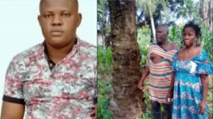 Son allegedly brutalizes his father and mother over land in Delta - Benson Ekpenisi 5