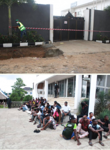 Over 50 Youths Partying In Lagos Arrested For Violating Lockdown Order 12