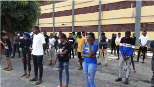 Over 50 Youths Partying In Lagos Arrested For Violating Lockdown Order 11