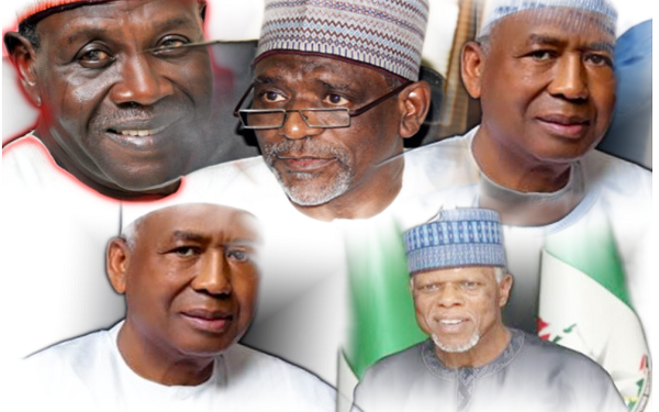 See Nine Persons Who Want To Succeed Abba Kyari As Buhari's Chief of Staff