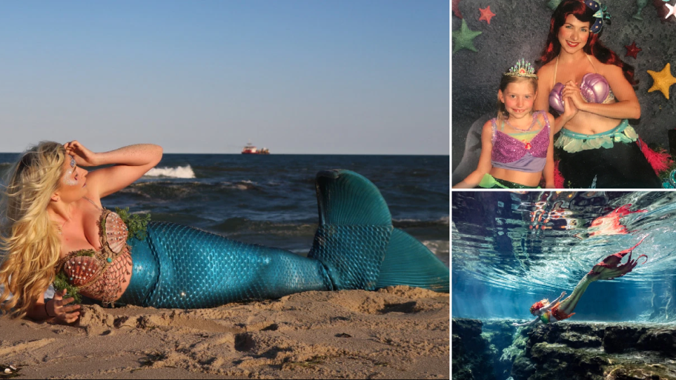 Student Spends $3,000 To Transform Into Real-Life Mermaid