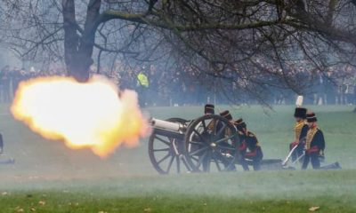 There Will Be No Gun Salute To Mark Queen's 94th Birthday