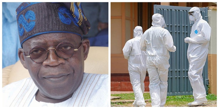 Tinubu Tests For Coronavirus After Death Of CSO