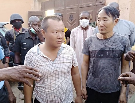 Two Chinese Men Arrested For Illegal Mining In Zamfara