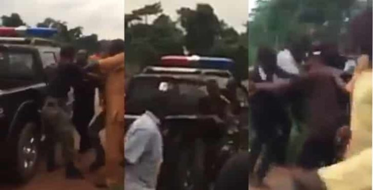 Watch Video Of Police Officers Fighting Over Bribe In Edo State