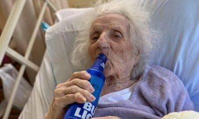 103-Year-Old US Grand Mother Celebrates Recovery From COVID-19 By Drinking Beer 16