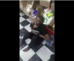 Lady Caught Stealing At A Shop In Warri Where She Previously Stole From 5