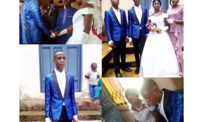 15-Year-Old Boy Gets Married To 22-Year-Old Girl In Abia (Photos)
