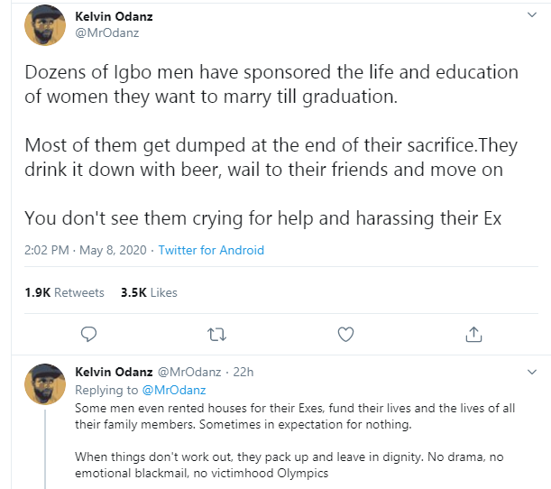 """Nigerian man reveals """"why men don't like receiving gifts from women in romantic relationships"""""""
