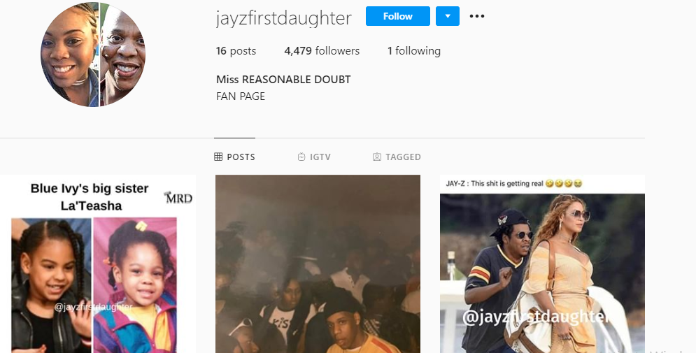 29-Year-Old Lady Says She's Jay-Z's Secret Daughter, Shows 'DNA Proof' 8