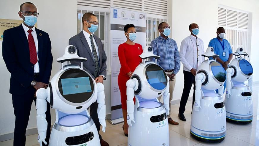 Rwanda Gets Robots That Screens And Delivers Food To Coronavirus Patients (Photos)