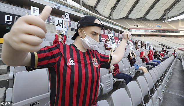 South Korean Club FC Seoul Handed £67,000 Fine For Filling Empty Stands With S3x Dolls In Place Of Fans