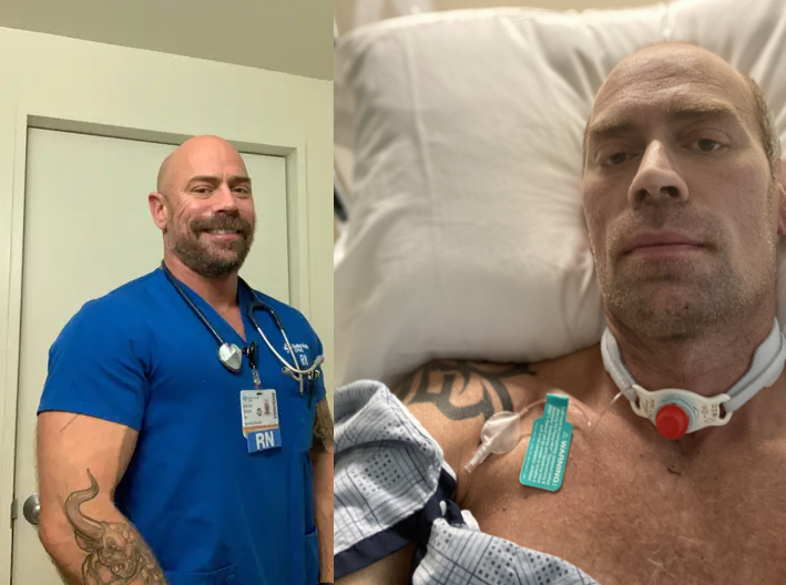 Nurse Mike Schultz' Drastic Transformation Shows How Coronavirus Can Damage Your Body