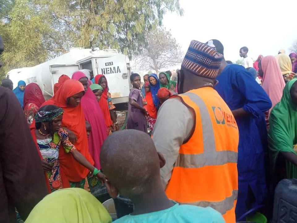 Fire Razes IDP Camp In Borno, One Person Confirmed Dead (Photos)
