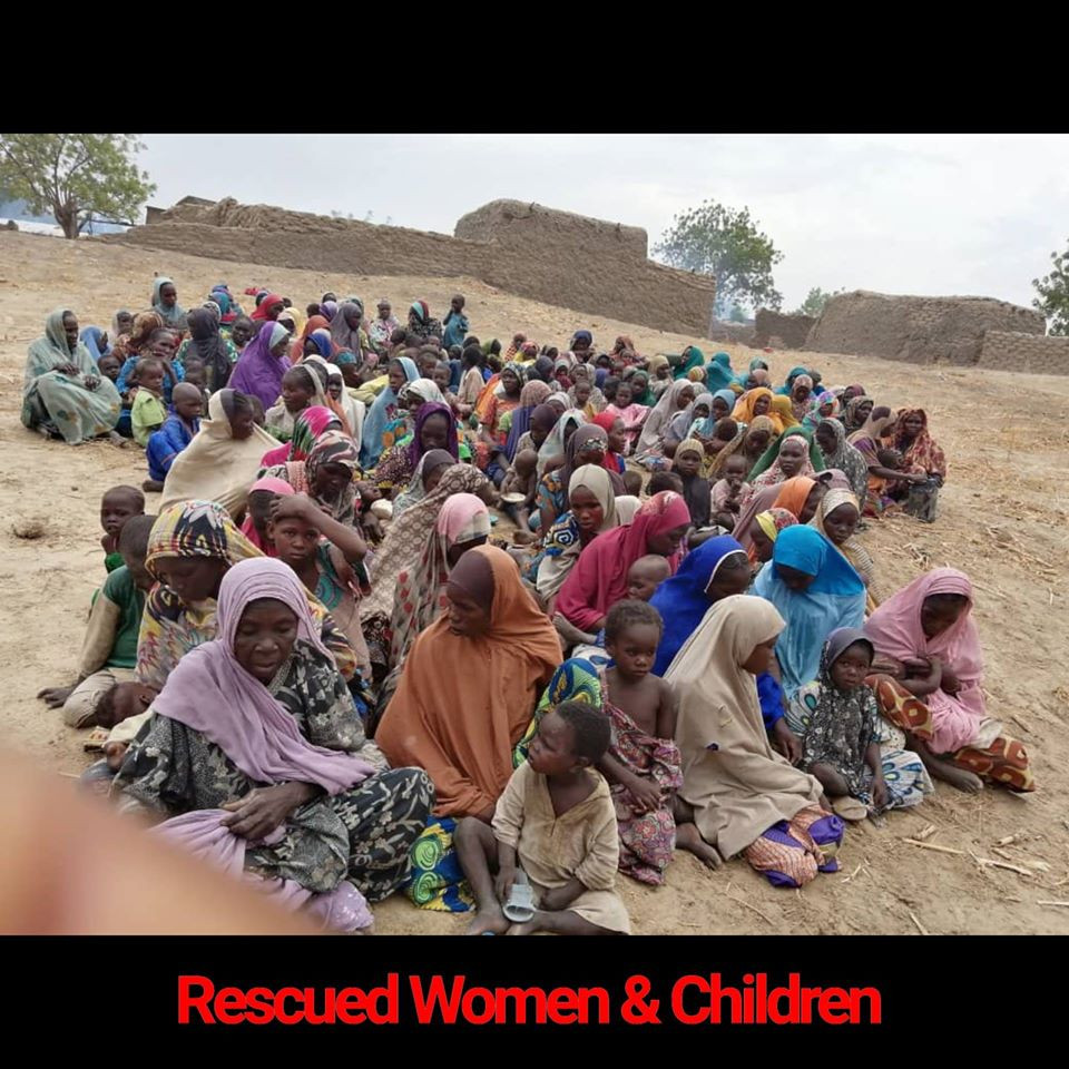 241 Women And Children Rescued From Boko Haram Captivity (Photos)