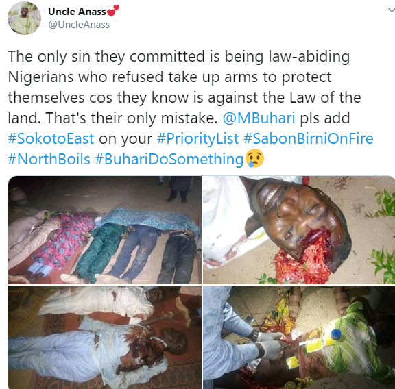 Over 50 Persons Killed By Gunmen In Sokoto