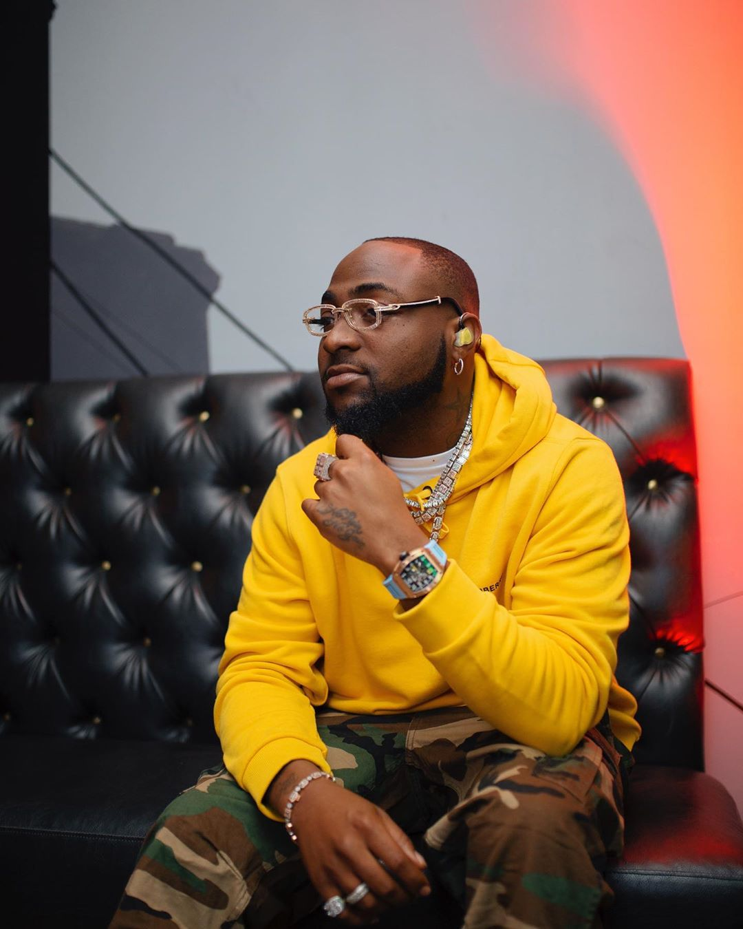 Davido Reveals He Was Mocked At US College For Being Black
