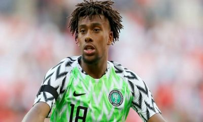 Alex Iwobi Reveals Why He Chose To Play For Nigeria Instead Of England