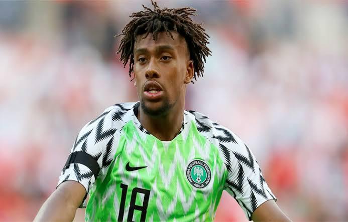 Alex Iwobi Reveals Why He Chose To Play For Nigeria Instead Of England