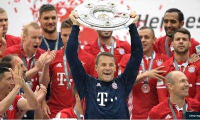 Bayern Munich Goalkeeper Neuer Extends Contract To 2023